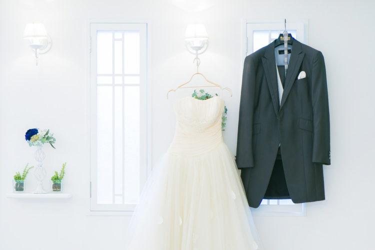 新郎新婦*持ち込みのドレス&タキシード