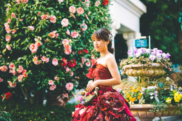 次はカラードレス!!