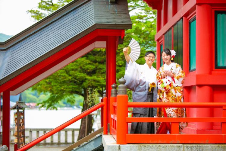 赤城神社での撮影です!