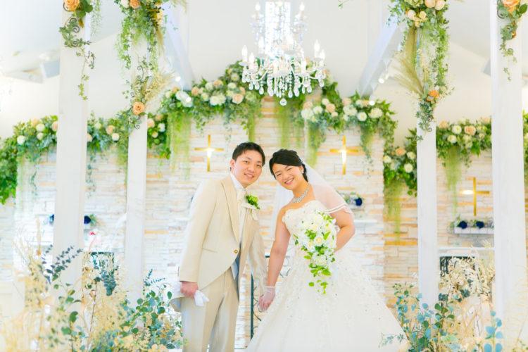 結婚式当日の写真をご紹介