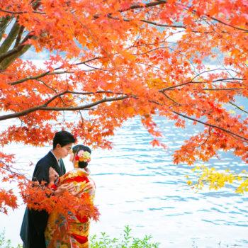 紅葉榛名湖